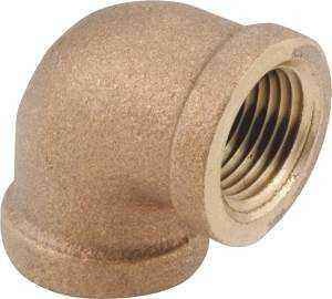 Anderson Metal 8827750 Brass 90d Elbow 3/4 Lf
