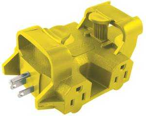 Coleman Cable 997362 5outlet Powerlink Adapter
