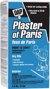 Dap 53005 Plaster Of Paris Hobby & Craft Dry Mix 4.4 Lb
