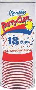 Reynolds Consumer Products 8874158 Kordite 16 Oz Party Cup 18ct
