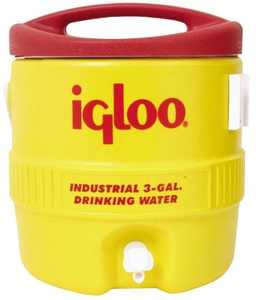 Igloo Corporation 00000431 3 Gal Yellow Commercial Water Cooler