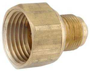 Anderson Metal 54806-0608 3/8x1/2 Flare Couplings