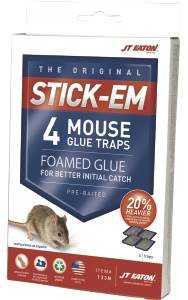 J.T. Eaton & Co., Inc. 133N Stick-Em Mouse Glue Trap