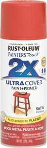 Rust-Oleum 249068 Painter's Touch Spray Paint And Primer Paprika