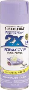 Rust-Oleum 249079 Painter's Touch Spray Paint And Primer French Lilac