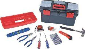 Toolbasix 10557 Tool Set 22pc With Tool Box