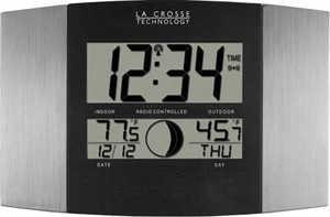 La Crosse Technology WS-8117U-IT-AL Wall Clock Digital