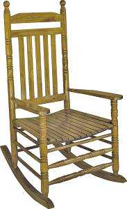 Worldwide Sourcing 8994378 Classic Porch Rocker Natural