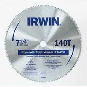 Irwin 21840ZR 7-1/4 x 140t Csb