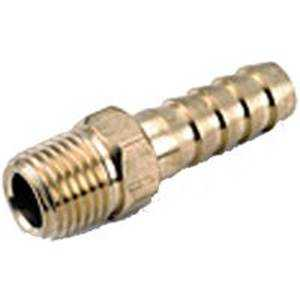 Anderson Metal 757001-0804 Insert Fitting 1/2barbx1/4mpt