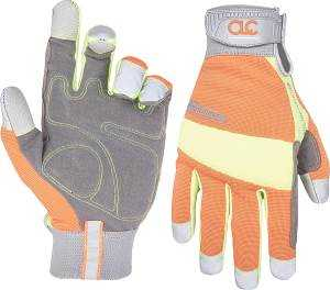 Custom Leathercraft 128X Hi Visibility Glove X Large