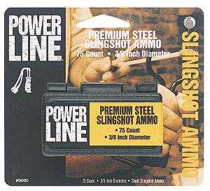 Daisy 8183 3/8 in Steel Slingshot Ammo