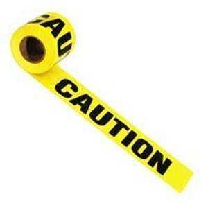 Irwin 66231 1000 ft x3 in Caution Tape
