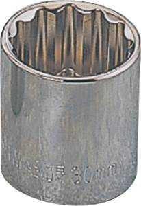 Vulcan MT6521736 1-1/8-Inch 1/2-Inch Drive 12-Point Standard Socket