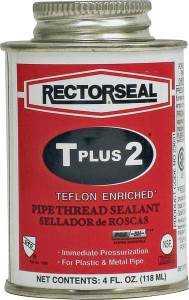 Rectorseal Corp 23631 4 oz Ptfe Pipe Thread Sealant