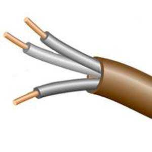 Coleman Cable 553036607 18/3 500 ft Brown Thermst Wire