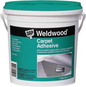 Dap 00186 Gal White Carpet Cement