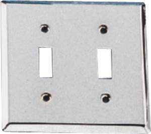 MintCraft CSC 903-3L Chrome Dbl Switch Plate