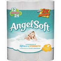 Georgia-Pacific 0944116 Angel Soft Bath Tissue 12dr