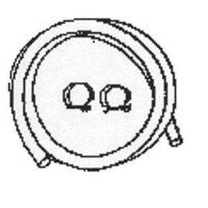 Plumb Pak PP855-71 7/8idx6 ft Dishwasher Hose