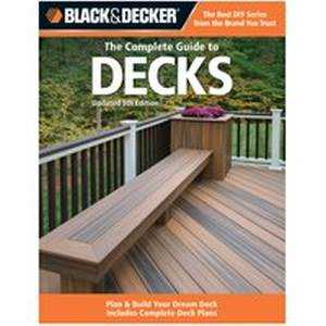 Quayside Publishing Grp 194988 Black And Decker The Complete Guide To Decks