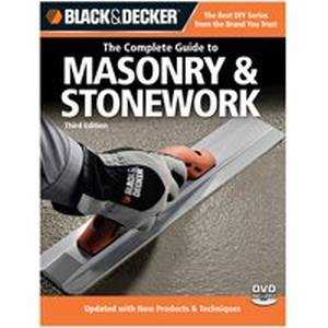 Quayside Publishing Grp 191658 Black And Decker the Complete Guide To Mason/Stonework