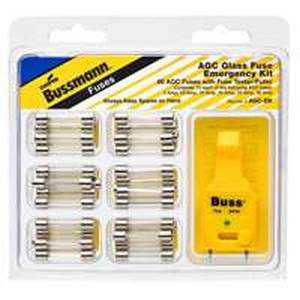 Bussmann Fuses AGC-EK Glass Fuse Kit