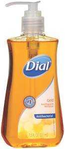Dial Corporation 1359282 Liquid Hand Soap Pump Gold