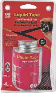 Gardner Bender LTB-400 Black Liquid Electrical Tape