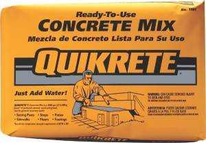 Quikrete 1101-60 Concrete Mix 60#