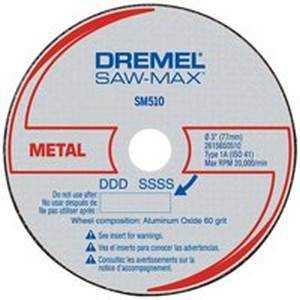 Dremel SM510C Metal Cutoff Wheel 3 in (3pk)
