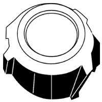 Arnold Corp 0968248 2-1/8-Inch Gas Cap For Mtd Tractors
