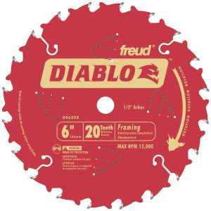 Freud D0620X 6 in 20tht Framing Blade