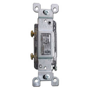 Orgill Inc E-1461C Wall Plate Toggle White