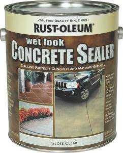 Rust-Oleum 239416 Gal Wet Look Concrete Sealer