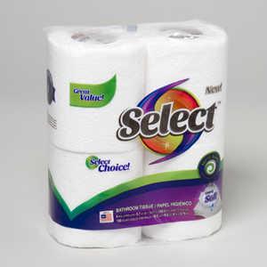 Orgill Inc 0RI-401 Tissue Bathroom 4pk