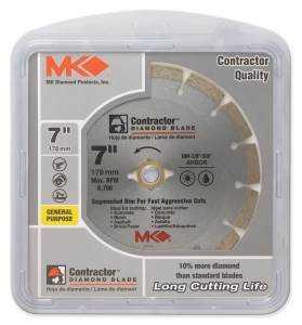 Mk Diamond 167015 Contractor 7 in Segmented