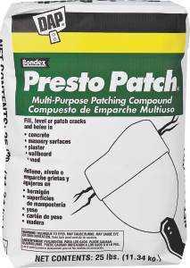 Dap 58552 Multipurpose Presto Patch 25lb
