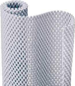 Kittrich 04F-C6O52-06 Con-Tact Brand Grip Premium 20 in X 4 ft Bright White Non-Adhesive Shelf Liner