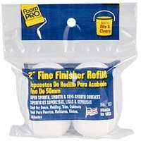 Foampro 163 2 in Fine Finish Roller Refills