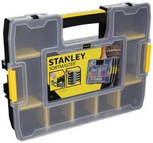 Stanley Tools STST14022 11-Inch Black Sortmaster Junior Tool Box Organizer