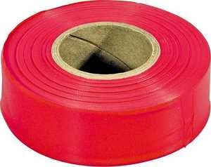 Irwin 65901 300 ft Red Flag Tape