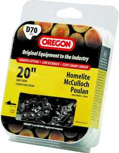 Oregon Cutting Systems D70 20-Inch Chainsaw Replacement Chain