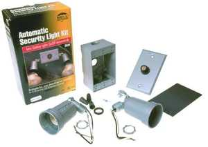 Bell Weatherproof 5883-5 Floodlight Kit W/Photocell