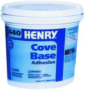 WW Henry Company 440-034 Cove Base Adhesive
