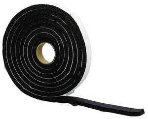 M-D Building Products 06635 3/8 x 3/4 x 10 ft Sponge Rubber Weatherstrip