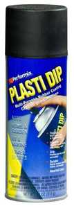 Plasti Dip 11203-6 Performix Interior/Exterior Latex Multi-Purpose Rubberized Spray Coating Black Matte Finish 11-Ounce Can