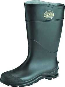 Norcross Safety 18822-9 Size 9 Black Pvc Boot 16 in