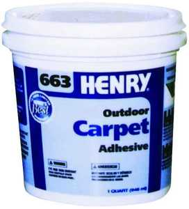 Ww Henry Company 663-044 Exterior Carpet Adhesive