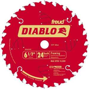 Freud D0624X 6-1/2 in 24tht Framing Blade